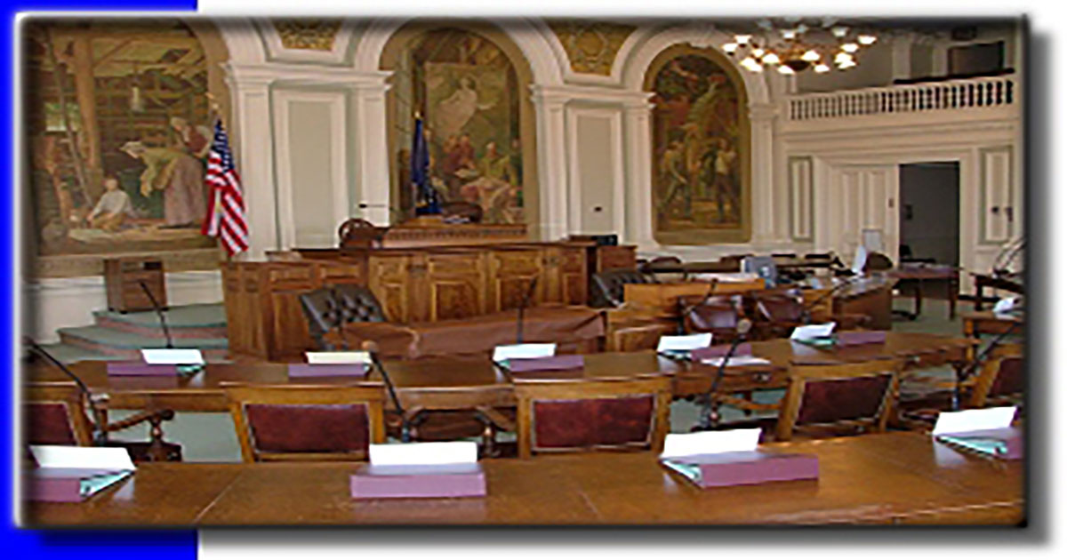 Legislative chamber for the Senate