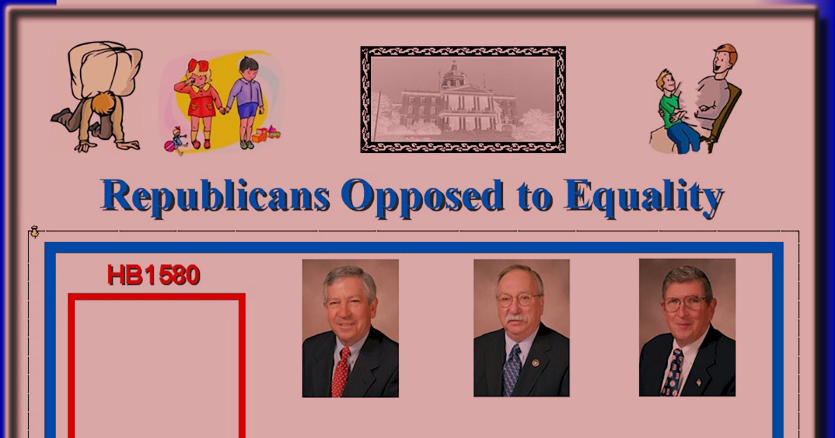 Republicans opposed to equality